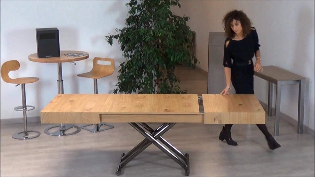 Tavolino Trasformabile In Tavolo Da Pranzo.Tavoli E Tavolini Trasformabili Salvaspazio Vendita Online Nottiblu