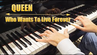 QUEEN - Who Wants To Live Forever  (INTENSE Piano Cover - 4K)