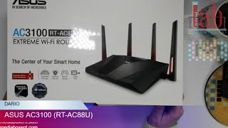 OVERVIEW ASUS AC3100 (RT-AC88U) GAMING ROUTER