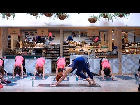 Clase completa de Vinyasa Yoga. Secret yoga: somos agua.