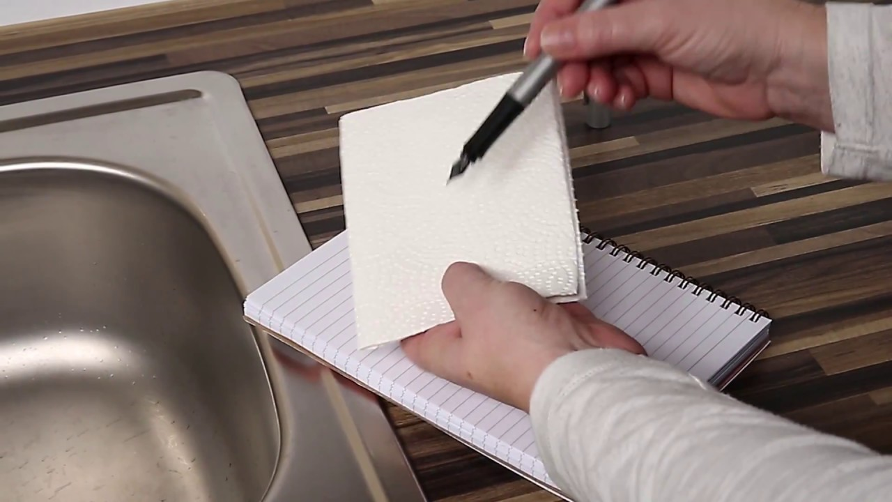 Faber-Castell: Grip Fountain Pen cleaning