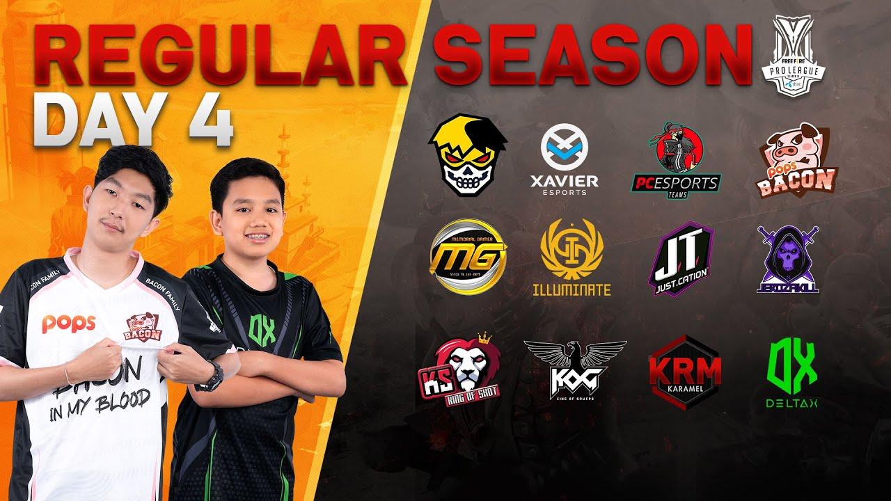 Free Fire Pro League Season 3 : Regular Season Day 4