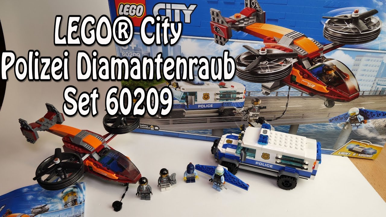 Lego Polizei Diamantenraub City Set 60209 Mit Lightsound Deutsch