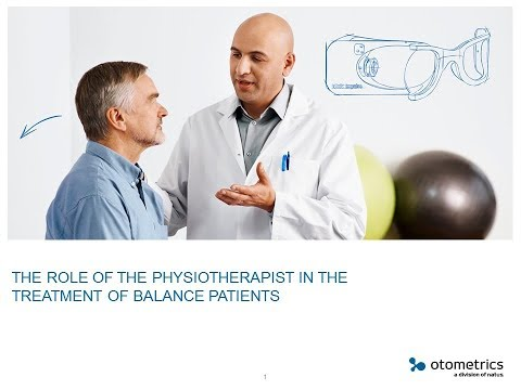 The role of the physiotherapist in the treatment of balance patients