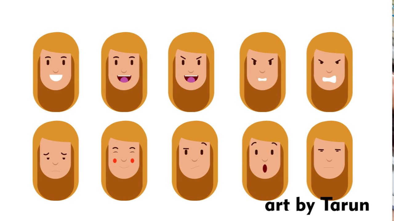 Character Design Expression : Character design and expressions youtube