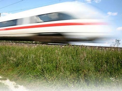 Fast German Trains ICE3 ICE T