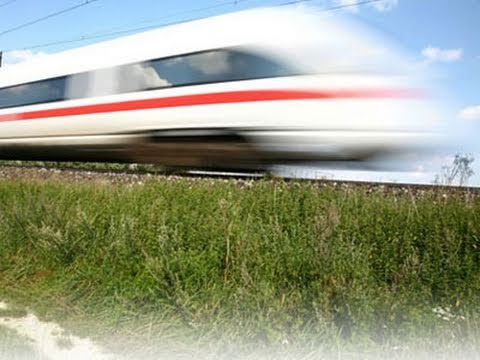 Tren Konusunda Bir Numara Olan Almanya Prag-Dresden Hızlı Tren Hattı İçin Tünel Tasarlayacak