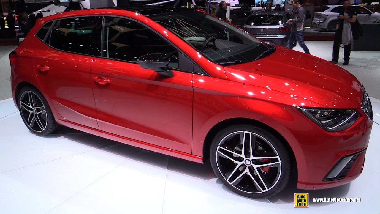 2017 seat ibiza fr exterior and interior walkaround 2017 geneva motor show youtube. Black Bedroom Furniture Sets. Home Design Ideas