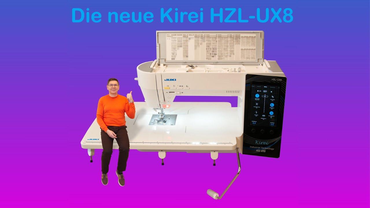 Download Die neue JUKI Computernähmaschine Kirei HZL-UX8   | JUKI | STYLE YOUR LIFE-SCHOOL