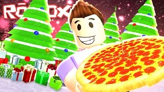 Roblox Adventures / Work at a Pizza Place / Christmas Edition!