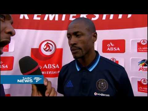 Postmatch interview with Benson Mhlongo after 6 - 0 thrashing by Sundowns