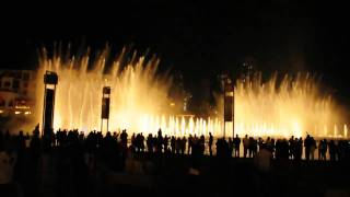 Michael Jackson - Thriller Dubai Mall Fountain Show