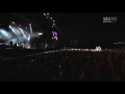 "[HD] Kasabian ""Lost Souls Forever"" Live Incheon Korea 2008"
