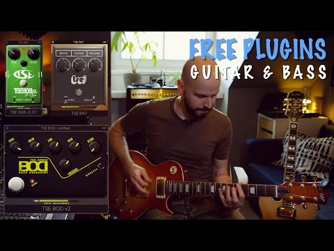 Free Guitar & Bass Pedal Plugins | TSE Audio - 808, R47, BOD