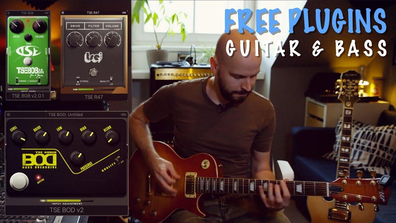 Free Guitar & Bass Pedal Plugins | TSE Audio - 808, R47, BOD