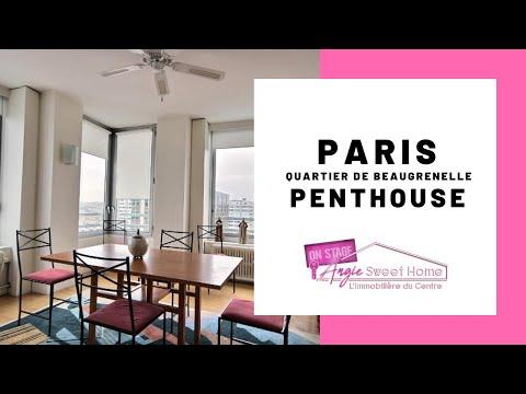 Paris -  Quartier de Beaugrenelle Penthouse