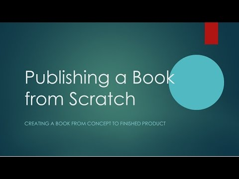 Publishing a Book from Scratch