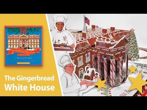 Gingerbread White House Pop-Up Book by Chuck Fischer