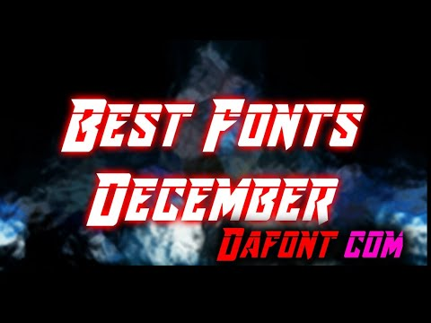 Best Fonts From Dafont com