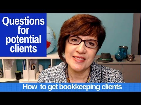 What questions should you ask prospective bookkeeping clients from YouTube · Duration:  6 minutes 40 seconds