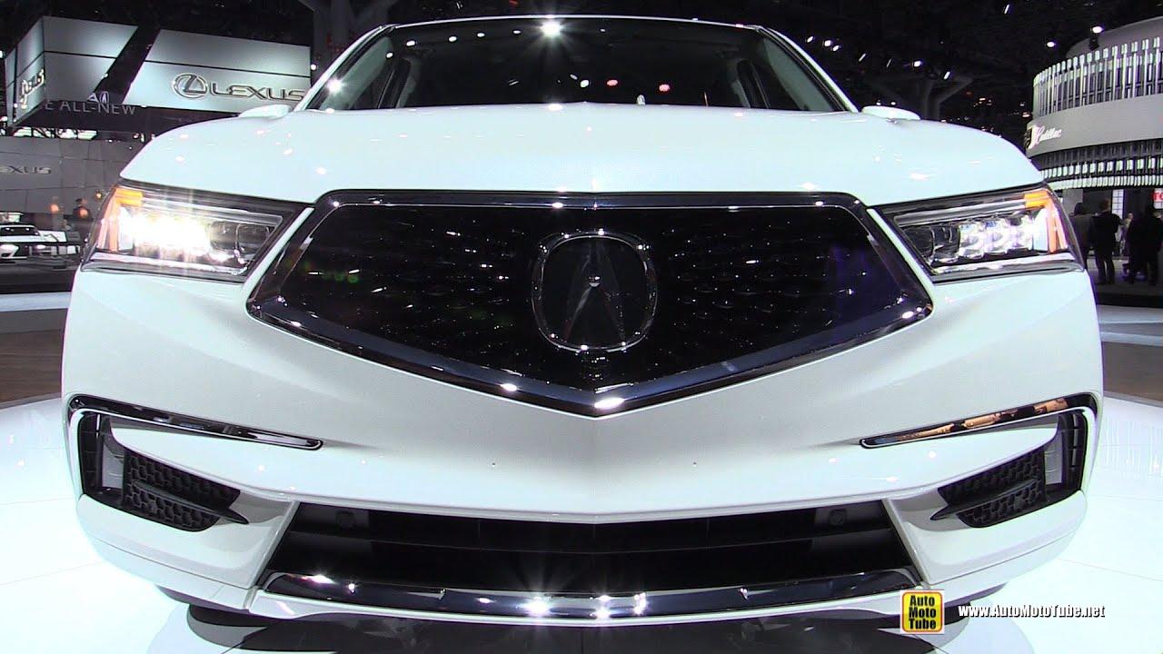Innovative 2017 Acura MDX Hybrid  Exterior And Interior Walkaround