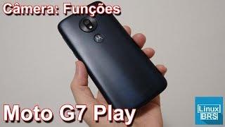 🔘 Motorola moto G7 play - Câmera: Funções