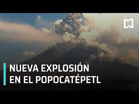 Popocatépetl; erupción del Popocatépetl 2019 - Las Noticias