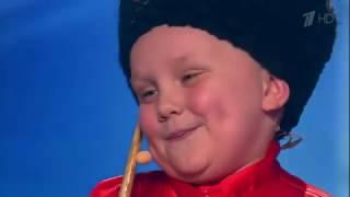 Выступление юного казака Ивана Шуварова. На шоу Лучше всех!