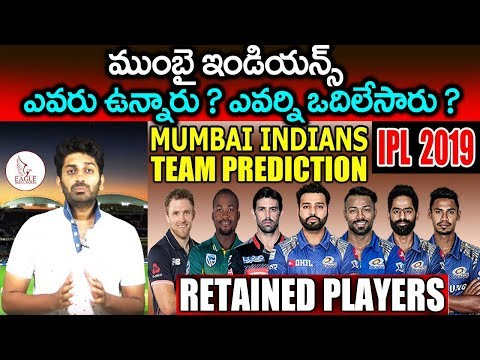 Mumbai Indians New & Retained Squad 2019 || MI Players list IPL 2019| Eagle Media Works