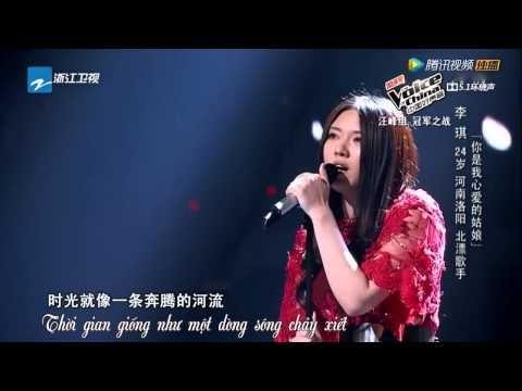 [Vietsub] Em là người con gái anh yêu - Lý Kỳ | The voice of China 2014