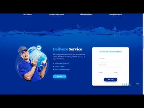 Aquaterias - Drinking Mineral Water Delivery WordPress Theme        L