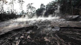 Vulkan Semeru auf Insel Java: Gefährliche Asche soweit das Auge reicht