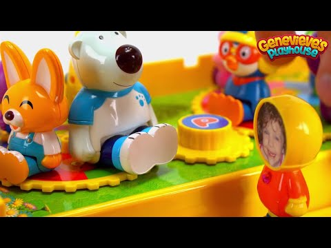 Learn Colors for Toddlers Best Learning video for Kids - Pororo the Little Penguin Toy School Bus!
