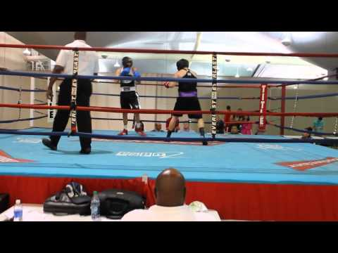 ECU's Walton Lee's boxing match