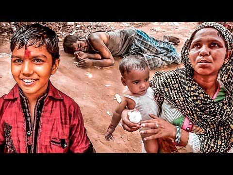 Индия: трущобы Дели.