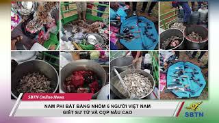 Nam Phi Bắt Băng Nhóm 6 Người Việt Nam Giết Sư Tử Và Cọp Nấu Cao