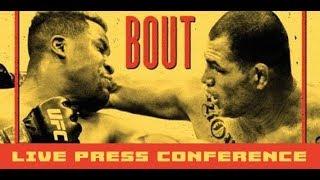 UFC on ESPN: Francis Ngannou vs. Cain Velasquez Press Conference