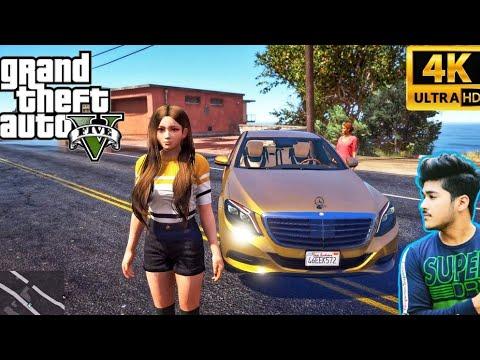 GTA 5 REAL LIFE : Natasha Ji Brought a Gold mercedes-benz Without Telling Kaluwa