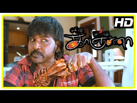 Raghava Lawrence as Kanchana | Kanchana Movie Horror Scenes | Sarathkumar | Kovai Sarala | Muni 2