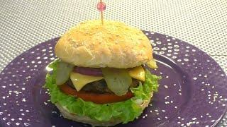 Классический бргер  как в бургер Кинг. Classic Burger like in Burger king