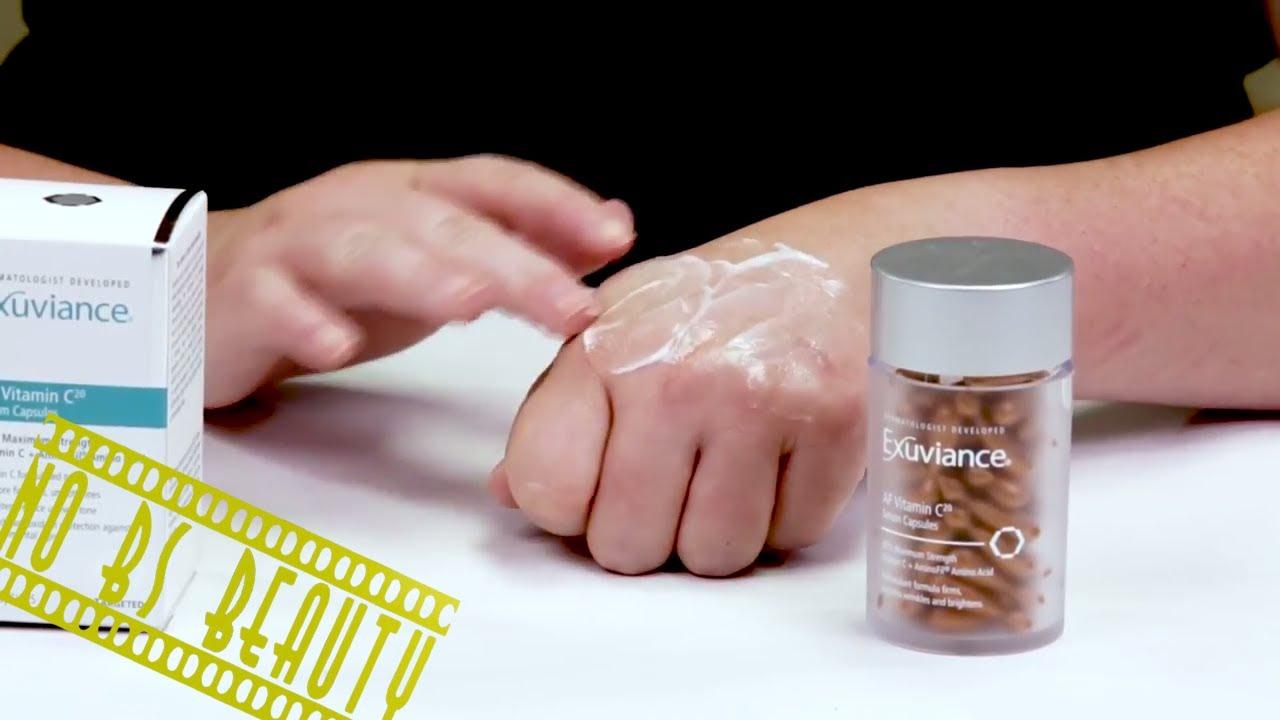 exuviance vitamin c serum