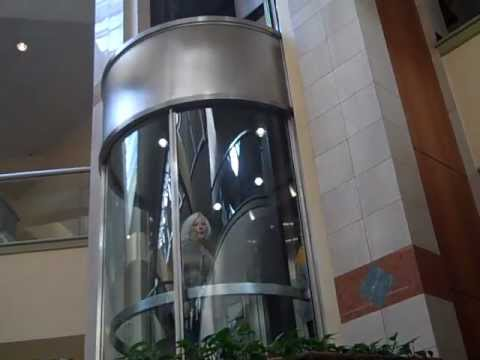 Montgomery Scenic Hydraulic Elevator @ Rockaway Town square Dover/Rockaway NJ