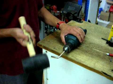 Sustituir un portabrocas de un taladro eléctrico