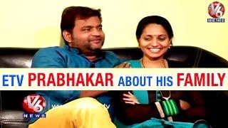 ETV Prabhakar And His Wife Malaija Reveals About Their Life || Life Mates || V6 News