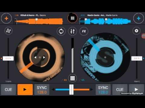 Mezclando musica electronica  en cross dj