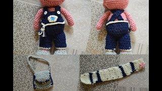 Вяжем одежду для свинки Кирюши: урок №6