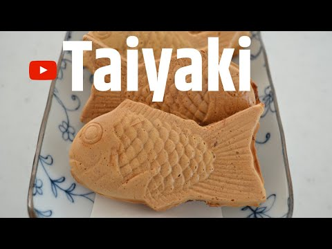 How To Make ★Taiyaki★Fish Shaped Red Bean Cake~鯛焼き~(EP149)