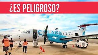 VOLANDO en un Avión pequeño ¿ES PELIGROSO?  | Alex Tienda ✈️