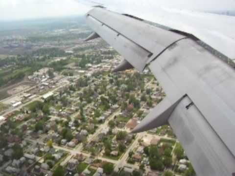 United Airlines 757 Final Descent into Omaha Part 2