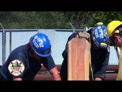 Boise Fire Department Trench Rescue Training